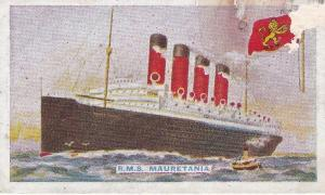 Cigarette Cards Godfrey Phillips Ships and their Flags No 12