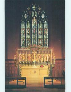 Unused Pre-1980 EPISCOPAL CHURCH SCENE Colorado Springs Colorado CO L4325
