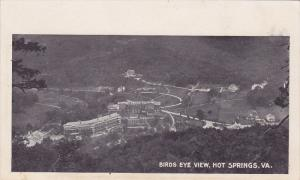 Birds Eye View , HOT SPRINGS , Virginia , Pre-1907