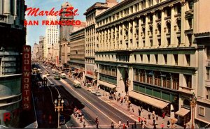 California San Francisco Market STreet Woolworth 1962