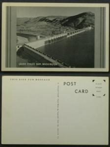 Grand Coulee Dam Washington circa 1940s