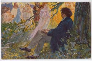 L. Balestrieri - Beethoven Composing