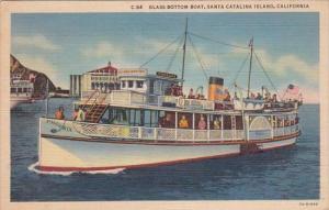 California Santa Catalina Island Glass Bottom Boat Phoenix 1938