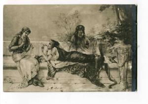 264129 Greece BELLE Nymph by COOMANS Vintage Russia postcard