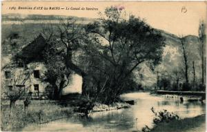 CPA Env. d'AIX-les-BAINS - Le Canal de Savieres (438620)