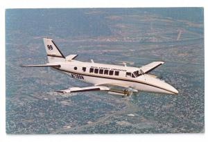 Aviation Postcard Beechcraft 99 Airliner Commuter Airplane Turboprop Aircraft