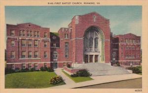 First Baptist Church Roanoke Virginia