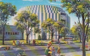 Ford Rotunda Dearborn Michigan 1954