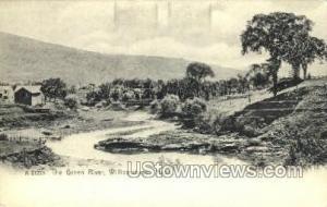 The Green River Williamstown MA Unused
