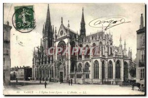 Old Postcard Nancy Church St Epure The Apse
