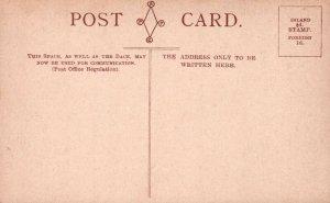 Oxford England UK Corpus Christi College Quadrangle Vintage Postcard