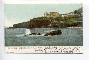 424418 PORTUGAL MADEIRA Reids Palace Hotel Vintage postcard