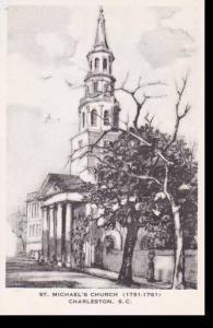 South Carolina Charleston St Michaels Church Artvue