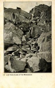 NH - Mt Monadnock. Last Hard Climb