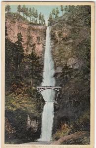 Multnomah Falls, Columbia Highway near Portland Oregon, unused Postcard