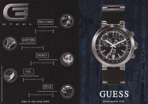 Advertising Guess Watches Canada