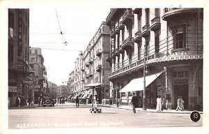 Boulevard Seed Zaghloul Alexandria Egypt, Egypte, Africa Postal Used Unknown