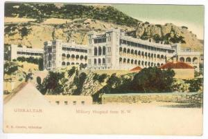 GIBRALTAR, Pre-1905   Military Hospital from N.W.