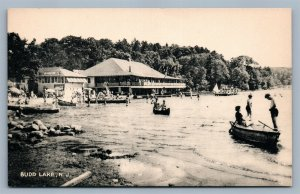 BUDD LAKE NJ ANTIQUE POSTCARD