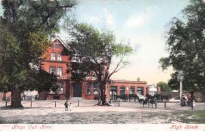 Kings Oak Hotel, High Beech, England, Early Postcard, Used in 1904