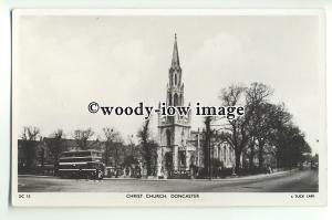 cu2066 - Church of Christ from the Road, in Doncaster, Yorks - Postcard - Tuck's