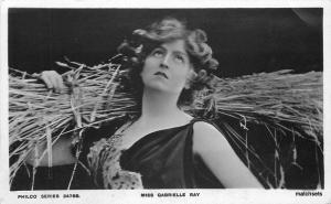 C-1910 Stage Actress Miss Gabrielle Ray Philco Series RPPC Real photo 7372