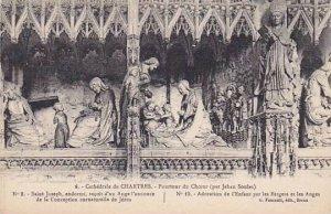 France Chartres La Cathedrale Pourtour du Choeur