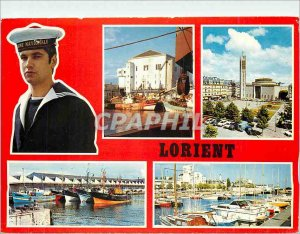 Modern Postcard Lorient