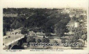 Real Photo - Prince's Bridge Melbourne Australia Unused