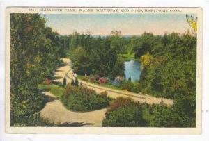 Elizabeth Park & Pond, Hartford, Connecticut, 1939 PU