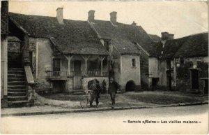 CPA SAMOIS-sur-SEINE - Les vieilles maisons (985434)