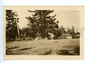 167867 Canada British Columbia COURTENAY Comox GOLF Course OLd