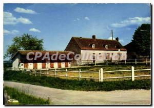 Postcard Modern Yvre le Polin Sarthe chateau de la Briere
