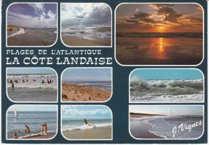 Post Card France Plages de L'Atlantique La Cote Landaise