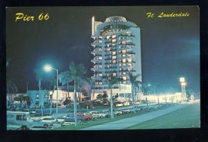 Fort Lauderdale, Florida/FL Postcard, Pier 66 Motor Hotel/Motel
