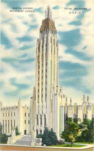 Linen of Boston Ave Methodist Church Tulsa Oklahoma OK