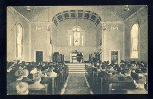 Stony Brook, Long Island, New York/NY Postcard,Stony Brook School Chapel Service