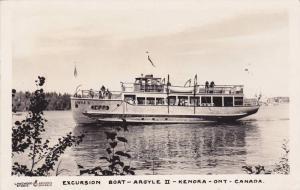 RP: Excursion Boat ARGYLE II , KENORA , Ontario , Canada , PU-1950