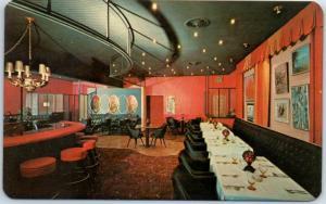 Dayton, Washington Postcard DORSEYS HOTEL, Restaurant & Lounge Bar c1960s