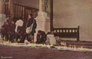 Guatemala Chichicastenango St Thomas Church Interior