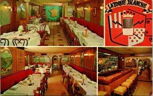 1970 Postcard New York NY La Toque Blanche Restaurant Interior 359 East 50th St