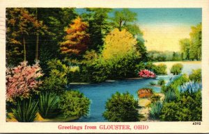Ohio Greetings From Glouster 1939