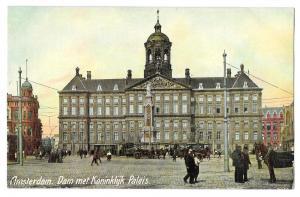 Netherlands Amsterdam Koninklijk Paleis Royal Palace Postcar