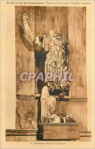 Postcard Old Emperor Breastplate Forum St Bertrand de Comminges Comminges Mus...