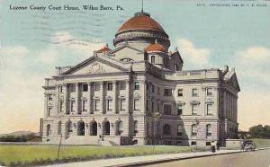 Luzerne County Court House, Wilkes-Barre, Pennsylvania, PU-1909