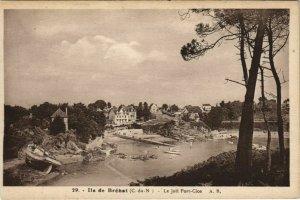 CPA AK Ile de Brehat Le joli Port-Clos FRANCE (1137249)