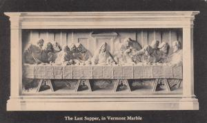 PROCTOR , Vermont , 1947 , Carved marble , The Last Supper