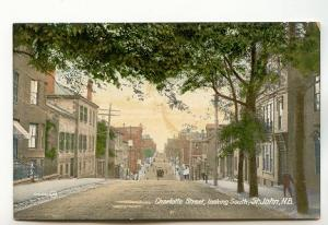 Charlotte Street Looking South, St John New Brunswick