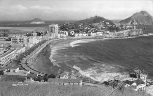 Mazatlan Mexico Birdseye View Of Beach Real Photo Antique Postcard K10503