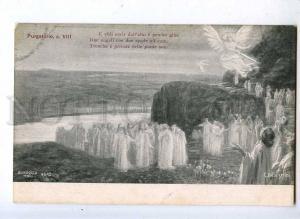 202468 DANTE Purgatory ANGEL by BALESTRINI old ALTEROCCA #4642